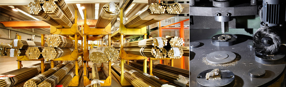 Processing of non-ferrous alloys - brass fittings manufacturer